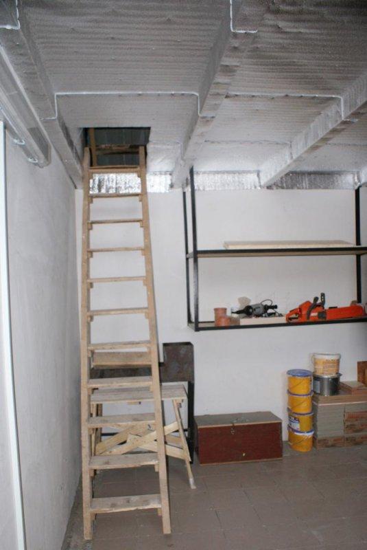 Лестница в гараж своими руками 29